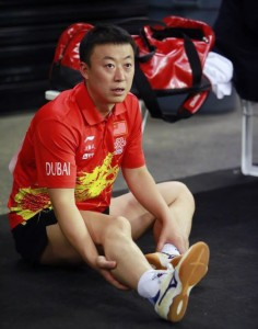 世界卓球2013出場中の馬琳