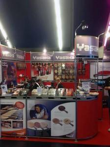 世界卓球パリ大会でのヤサカブース2