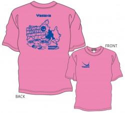 全日本卓球選手権大会〔マスターズの部〕限定Tシャツ〈ピンク×ロイヤルブルー〉
