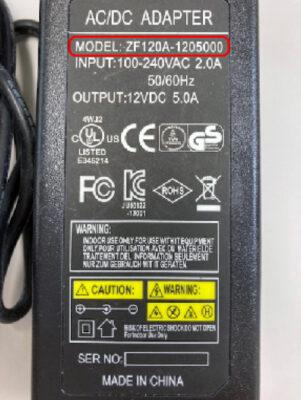 ZF120A1205000交換対象品【拡大写真】