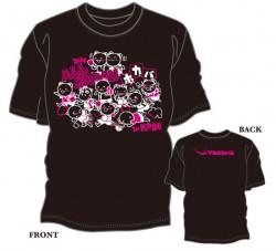 全日本選手権(ホープス・カブ・バンビの部)限定Tシャツ〈ブラック×濃ピンク×ホワイト〉