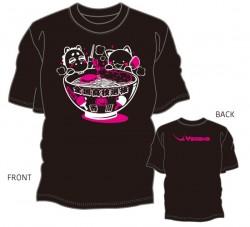 第42回全国高校選抜卓球大会限定Tシャツ〈ブラック:ホワイト×濃ピンク〉
