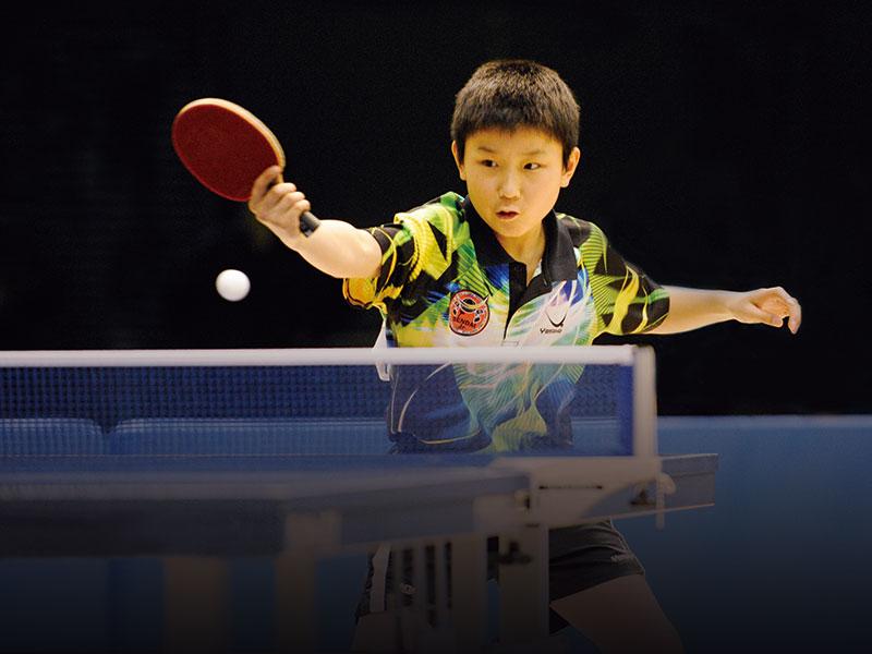 卓球総合メーカーヤサカです。素晴らしい卓球の世界をご案内します。【ヤサカ契約選手】張本智和(はりもと ともかず)選手が国際大会に出場!