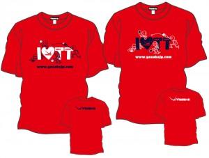 I Love T.T.Tシャツ2