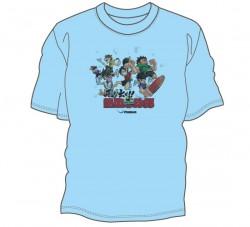 飛び出せ!熱血卓球部Tシャツ〈サックス〉